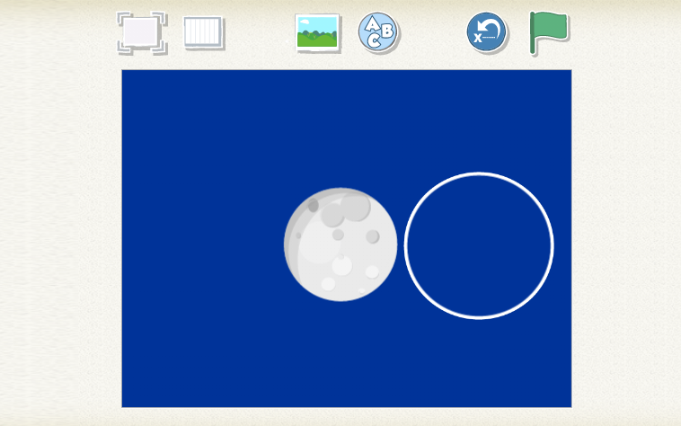 Scratch junior moon phases step 2 B